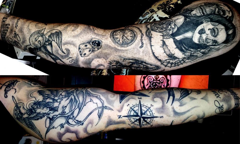 tattoo chicanos sur bras