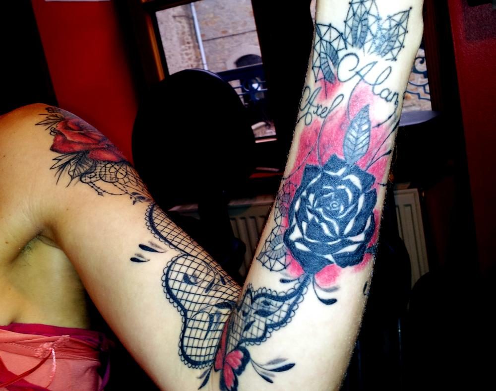 tattoo mandala floral